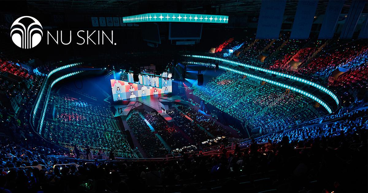 Una multitudinaria convención de Nu Skin